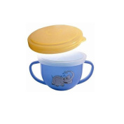 Mossworld BPA Free Snack Trap - Snap Over Lid