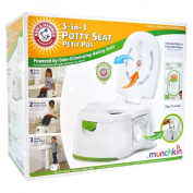 Munchkin Arm & Hammer Multi-Stage 3-in-1 Potty, Blue