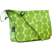 Wildkin 41086 Big Dots Green Kickstart Messenger Bag