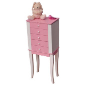 Mele & Co Louisa Girl's Jewellery Armoire - Pink