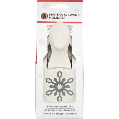 Martha Stewart Crafts Large Punch, Icelandic Snowflake