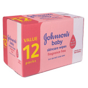 Johnson's Baby Skincare Wipes - 768CT