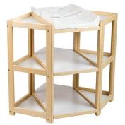 Badger Basket Nappy Corner Changing Table
