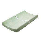 BabyShop Plush Changing Pad Cover - Sage