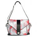 JJ Cole Boutique Myla Nappy Bag - Cherry Lotus
