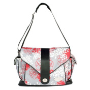 JJ Cole Boutique Myla Nappy Bag - Cherry Lotus