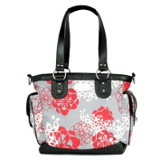 JJ Cole Boutique Norah Nappy Bag - Cherry Lotus