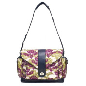 JJ Cole Boutique Myla Nappy Bag - Boysenberry Fleur