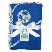 Blue My Mind Hooded Towel - Blue