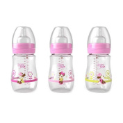 Born Free BPA Free Activeflow Disney Baby Bottles - Minnie Mouse - 3 Pack
