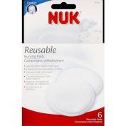 NUK Nursing Pads Reusable - 6 Pack