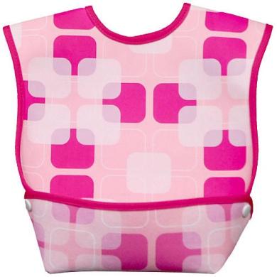 Dex Baby Dura Bib - Geo Pink (Large)