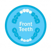 Munchkin Orajel Naturals Front Teeth Teether Toy Assorted Colours -- 1 Toy