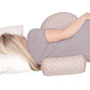 Leachco Preggie Pouffe Maternity Soft Seat - Taupe Rings