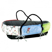 Trend Lab Dr. Seuss Cat in the Hat Moses Basket Set