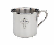 Reed & Barton Cross Baby Cup - Pewter
