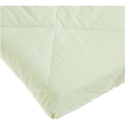 Carter's Quilted Portacrib Fitted Sheet - Sage
