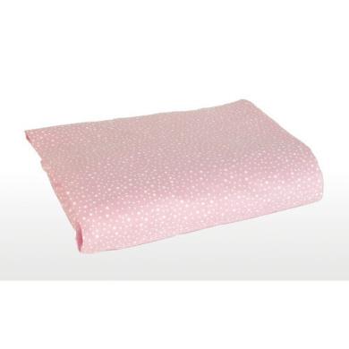 Sumersault Charlotte Crib Sheet - Pink