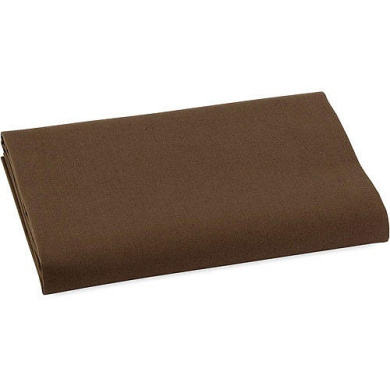 Bacati Chocolate Crib Fitted Sheet