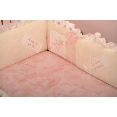 Cotton Tale Heaven Sent Girls Fitted Crib Sheet