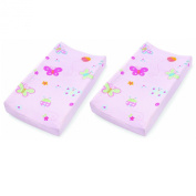 Summer Infant Butterfly and Lady Bug Changing Pad Cover