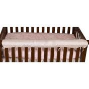 Cotton Tale Heaven Sent Front Crib Rail Cover Up