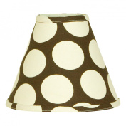 N. Selby by Cotton Tale Designs Raspberry Dot Lamp Shade