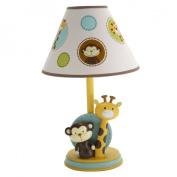 NoJo Jungle Tales Lamp & Shade