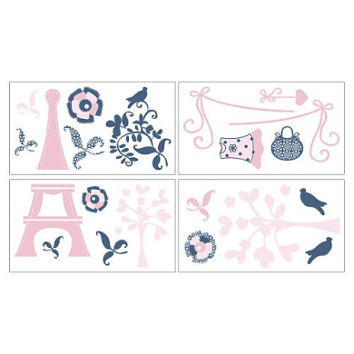 CoCaLo Madison Wall Decals