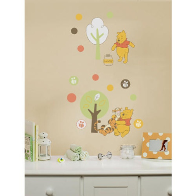 Neutral Pooh Large Wall Decals