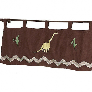JoJo Designs Dinosaur Land Collection Window Valance