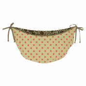 N. Selby by Cotton Tale Designs Raspberry Dot Toy Bag