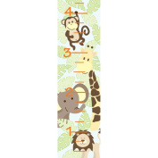 Wall Pops Wall Decal - Growth Chart - Jungle Friends