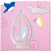 Studio Arts Kids Under the Tree Collection Embellished Wall Hanging - Birdcage