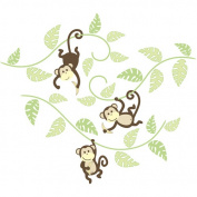 Wall Pops Wall Decal - Wall Art Kit - Monkeying Around