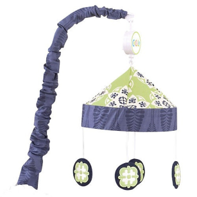 CoCaLo Baby Moss Musical Mobile