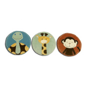 NoJo Jungle Tales 3-Piece Wall Hanging