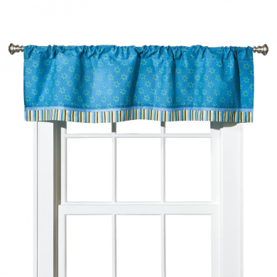 Cocalo Baby Window Valance - Peek A Boo Monsters