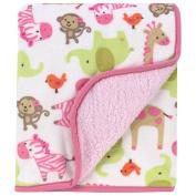 Carter's Zebra Sherpa Blanket