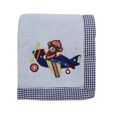 Lambs & Ivy Baby Aviator Blanket