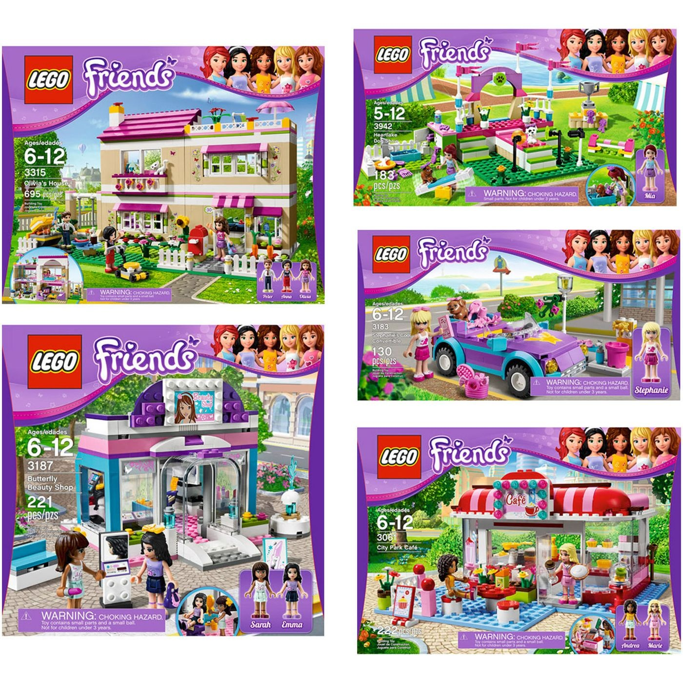 Lego Friends Olivias House Your Choice Lego Friends Bundle By Usa