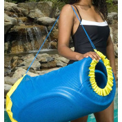 Handy Tote for Unsinkable Pool Float, Blue