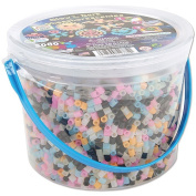 Perler Fun Fusion Fuse Bead Bucket-Glow In The Dark