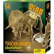 GeoWorld Dino Excavation Kit, Triceratops Skeleton