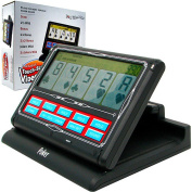 Portable Video Poker Touch-Screen 7-in-1, Black