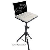 Pyle Pro DJ Adjustable Laptop Stand, Black