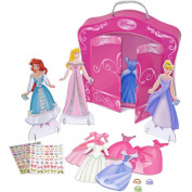 Disney Princess Magnetic Paper Doll Dress Up Fun Playset