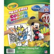 Disney 18-page Colour Wonder Pad