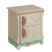 Teamson Kids - Enchanted Forest Wooden Play Kitchen - Fridge | Pretend Play