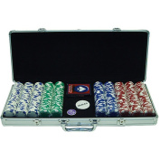 Trademark Global Chip Ace/King Suited Set with Executive Aluminium Case